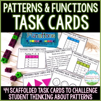 pattern task cards by teaching with a mountain view tpt. Black Bedroom Furniture Sets. Home Design Ideas