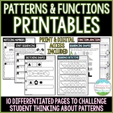 Patterns and Functions | Distance Learning