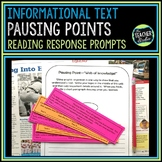 Response to Reading Prompts: Informational Text