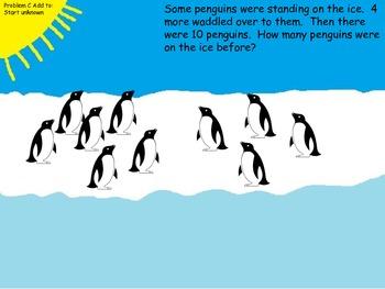 Common Core Penguin Problem Solving