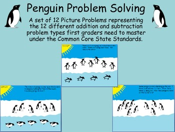 Common Core Penguin Problem Solving