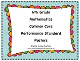 Common Core Performance Standards - 6th Grade Math