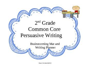 Common Core Persuarsive Writing
