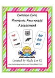 Common Core Phonemic Awareness Assessment and RtI data Col