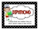 Common Core Phonic Cue Cards for Diphthongs