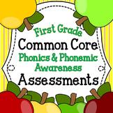Common Core Phonics & Phonemic Awareness Assessments for F
