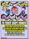 Common Core Phonics Workshop - ALL MATERIALS FOR ALL SHORT