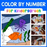 Color by Number (Kindergarten) Color by Number, Addition, Subtraction and Shapes