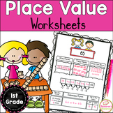 Common Core Place Value Worksheets First Grade