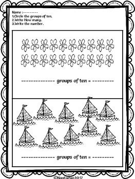 Place Value Worksheets First Grade