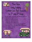 Common Core Place Value Math Stations (Going Camping)