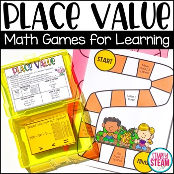 Place Value Game - Grade 2