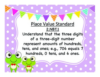 Common Core Place Value Pack