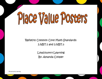 Common Core Place Value Posters