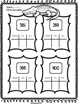 Common Core Place Value Worksheets Second Grade