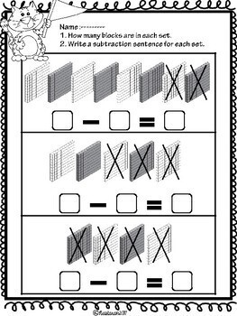 place value worksheets second grade by nastaran tpt. Black Bedroom Furniture Sets. Home Design Ideas