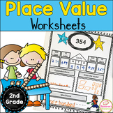 Place Value Worksheets Second Grade