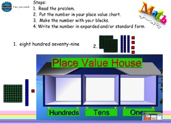 Common Core Place Value Smart board lessons (5 lessons and