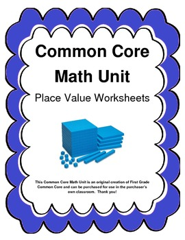 Common Core Place Value Worksheets