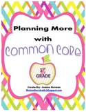 Common Core Planning Checklists (First Grade)