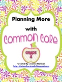 Common Core Planning Checklists (Fourth Grade)