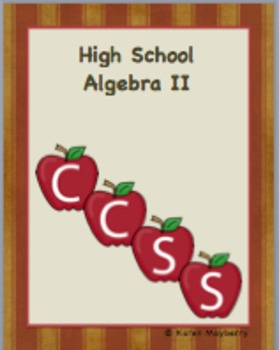 Common Core Planning Template and Organizer for Algebra II