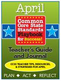 Common Core Playbook for Success: APRIL Teacher's Guide & Journal