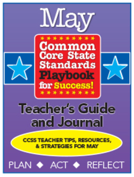 Common Core Playbook for Success: MAY Teacher's Guide & Journal