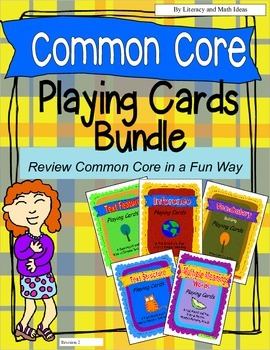 Common Core Playing Cards Set 1