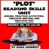 Plot Reading Unit: Lesson, Review Activities, Writing Projects +Practice Test