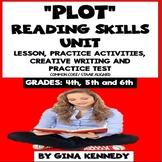 Plot Reading Unit: Lesson, Review Activities, Writing Proj