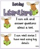 Common Core Pocket Chart Cards for Kindergarten (I can ) M