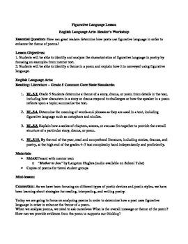 Poetry/Figurative Language Bundle Part 1