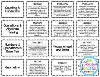 Common Core Posters Bundle Kindergarten Reading, Math, Science, Social Studies