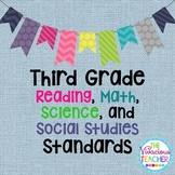 Common Core Posters Bundle Third Grade Reading, Math, Science, Social Studies