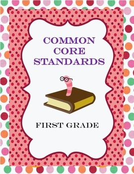 Common Core Posters First Grade