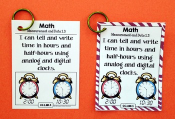 Common Core Posters - I Can Statements Math & ELA (1st Grade) - Full Page Size