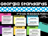 3rd Grade Georgia Standards Poster Pack