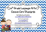 Common Core Posters and Handouts for 6th Grade Language Arts