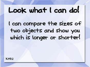 Common Core Posters for Displaying Work