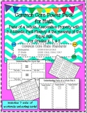 Common Core Power Pack Math (fact fluency, 3 addends, equal sign)