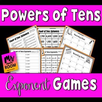 Powers of Ten Center Games