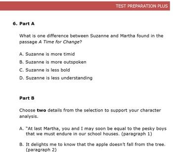 Common Core Practice ELA Reading Assessment (PARCC format)