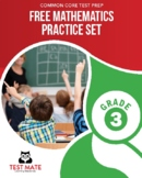 Common Core Practice, Mathematics FREE Practice Set, Grade 3
