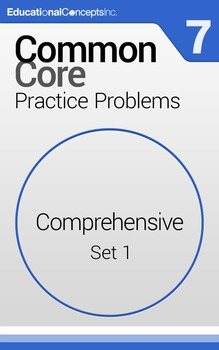 Common Core Practice Problems Grade 7 Comprehensive Pretes
