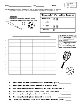 Bar Graph Practice and Assessment Bundle