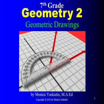 Common Core 7th Geometry 2 Geometric Drawings