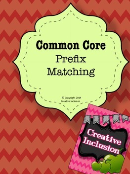 Common Core Prefixes and Suffixes