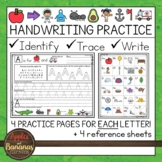 Handwriting - Tracing and Writing Letters- Upper and Lower Case