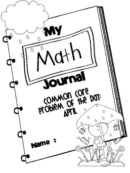 Common Core Problem of the Day - April